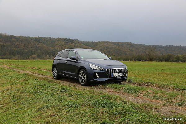 Hyundai i30 mit Licht