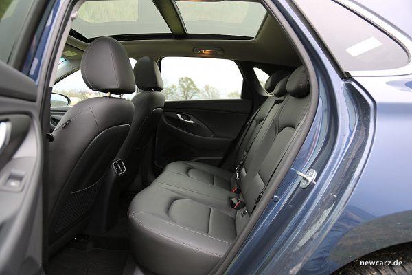 Hyundai i30 Rückbank