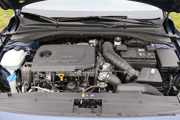 Hyundai i30 Motorraum