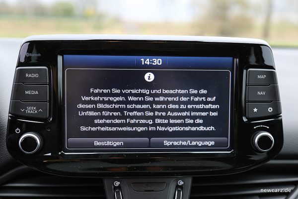 Hyundai i30 Touchscreen