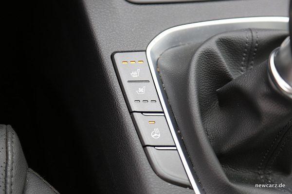 Hyundai i30 Sitzheizung