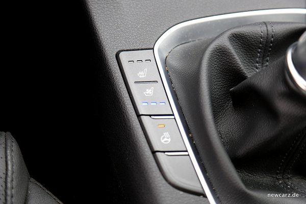 Hyundai i30 Sitzlüftung.