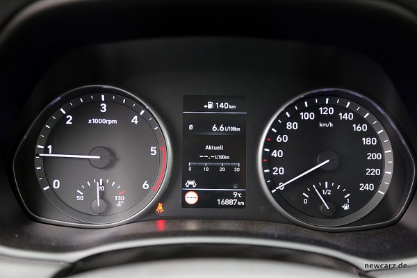Hyundai i30 Kombiinstrument Verbrauch
