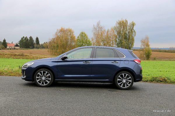 Hyundai i30 Seitenansicht