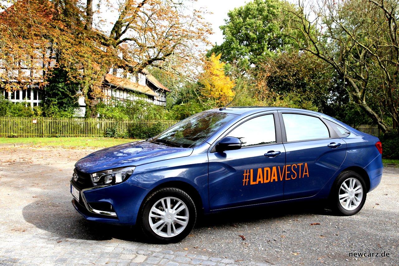 LADA Vesta Seite