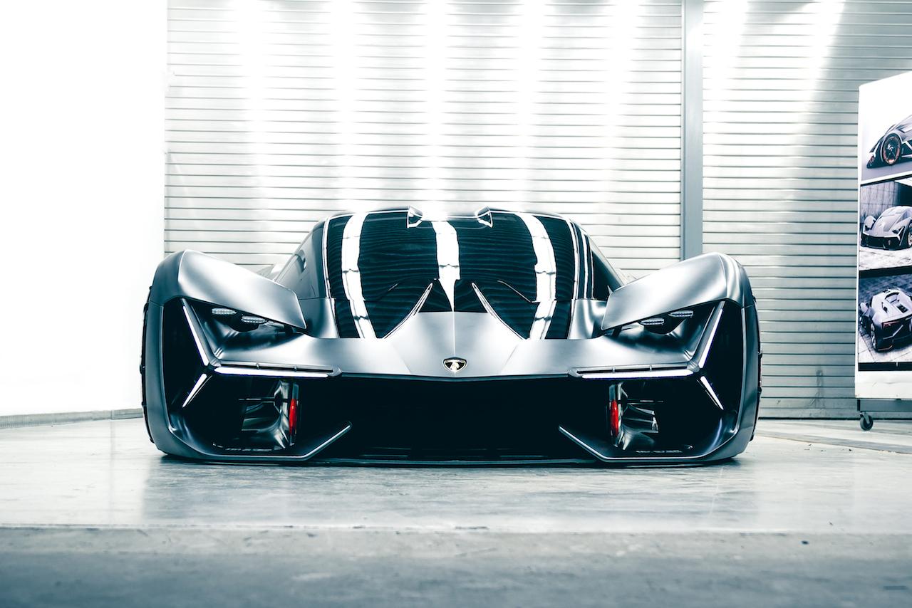 Lamborghini Terzo Millennio Front