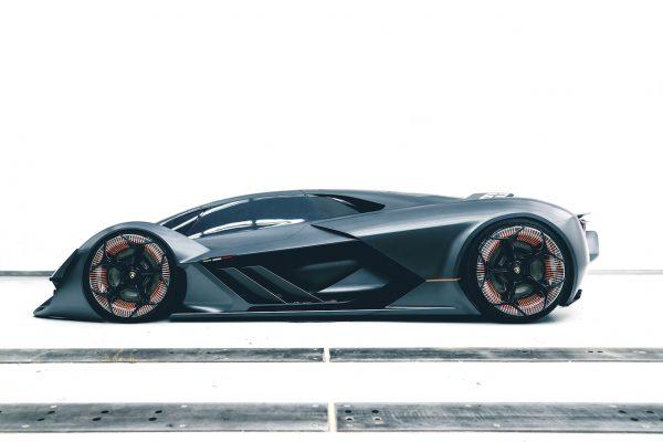 Lamborghini Terzo Millennio Seite
