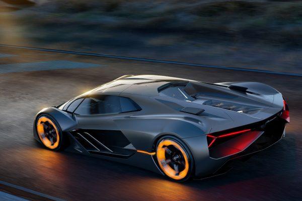 Lamborghini Terzo Millennio Heck