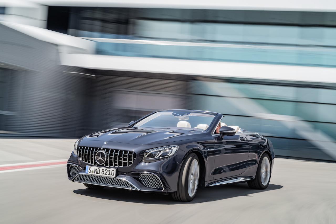 Mercedes-Benz S-Klasse Coupé und Cabriolet Front
