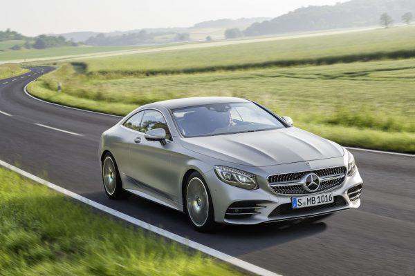 Mercedes-Benz S-Klasse Coupé Front