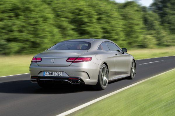 Mercedes-Benz S-Klasse Coupé Heck