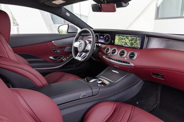 Das neue S-Klasse Coupé und das neue S-Klasse Cabriolet Innenraum