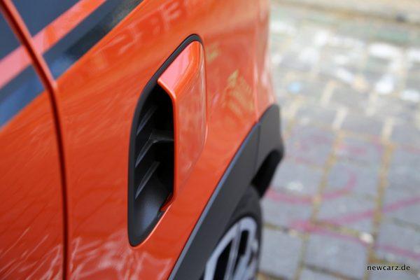 Renault Twingo GT Lufteinlass