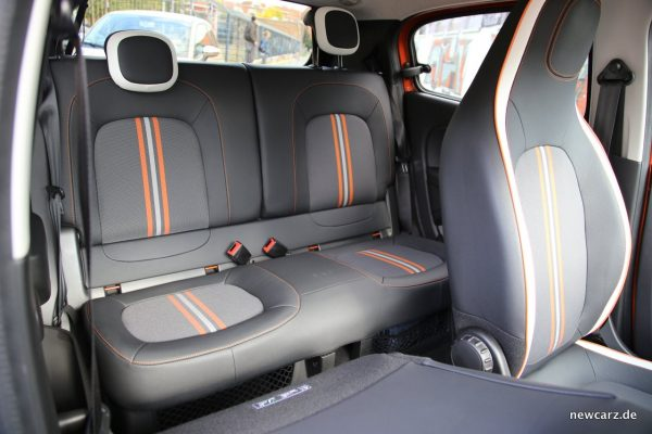 Renault Twingo GT Sitze hinten