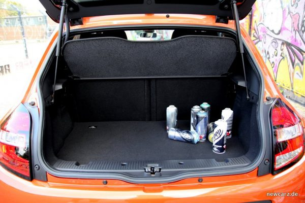 Renault Twingo GT Kofferraum Motor