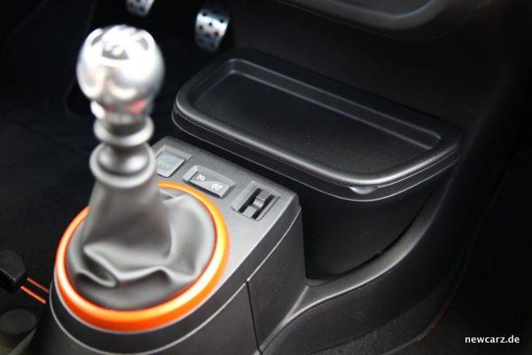 Renault Twingo GT Schalthebel Tempomat