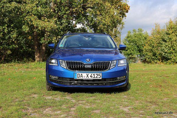 Skoda Octavia Combi Facelift Frontbereich