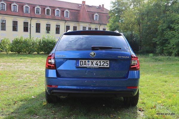 Skoda Octavia Combi Facelift Heck