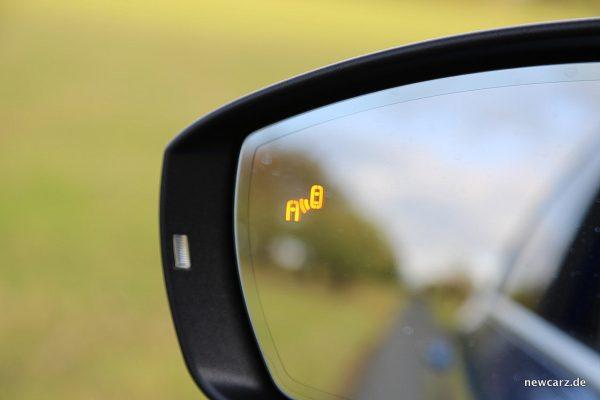 Skoda Octavia Combi Facelift Außenspiegel