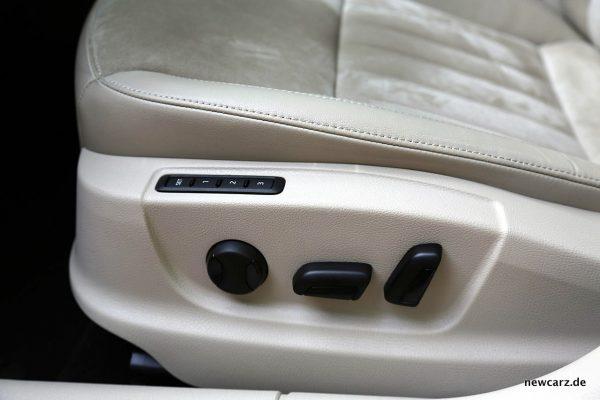 Skoda Octavia Combi Facelift Fahrersitz