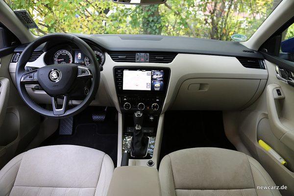 Skoda Octavia Combi Facelift Armaturenbereich