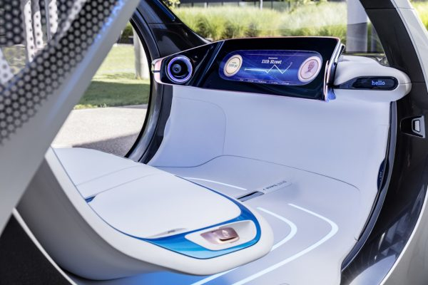 smart vision EQ fortwo Interieur