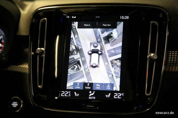 Volvo XC40 Navigationssystem