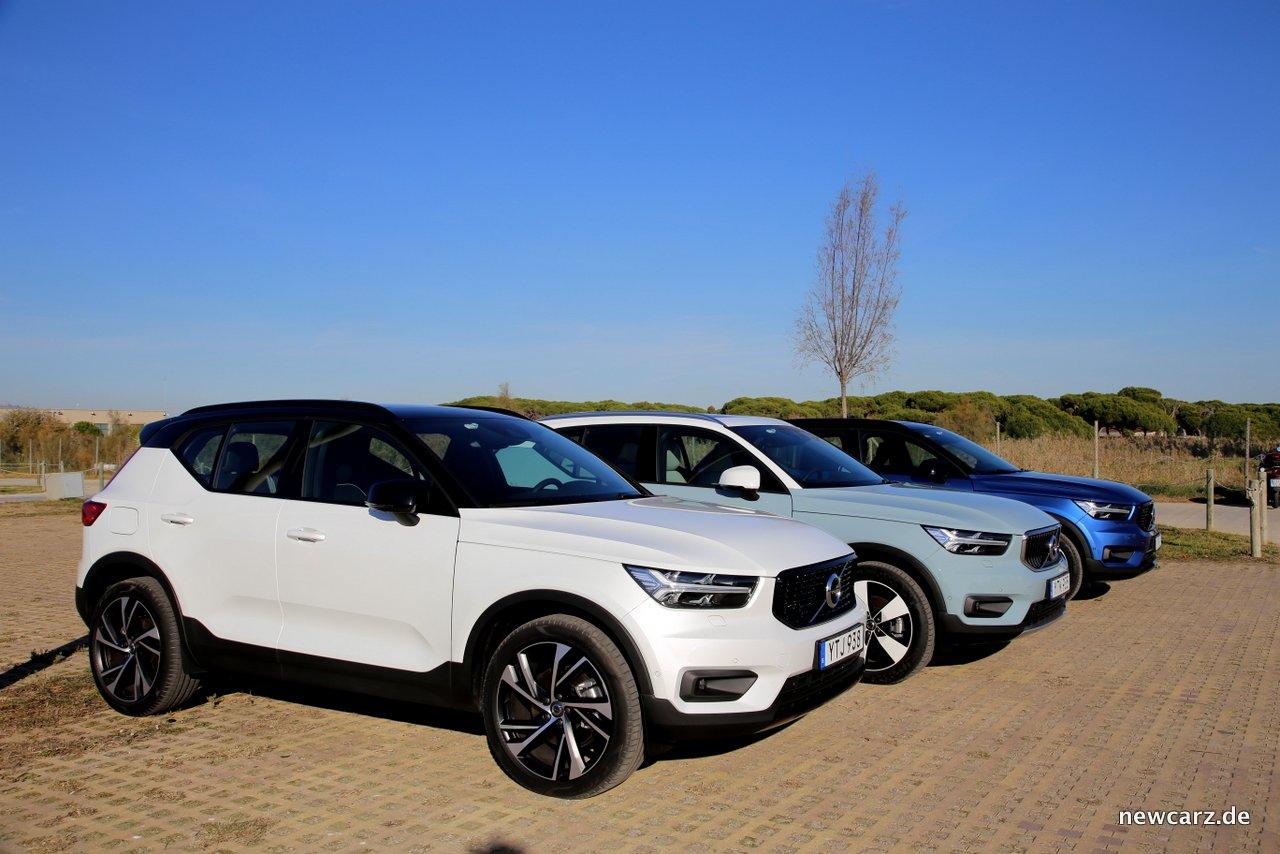 Erstkontakt Volvo Xc40 Urbanes Designer Suv Newcarz
