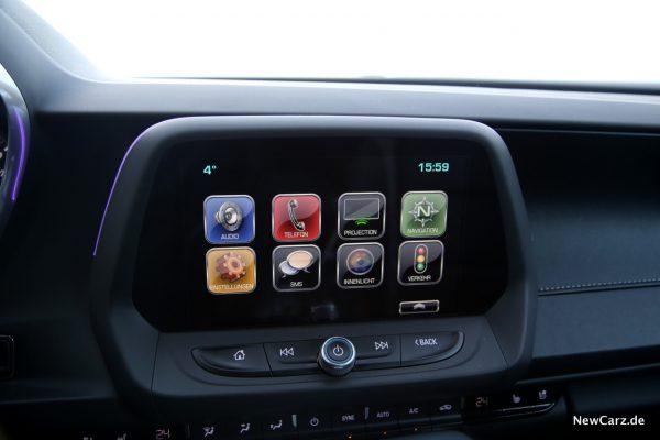 Chevrolet Camaro Convertible Infotainment