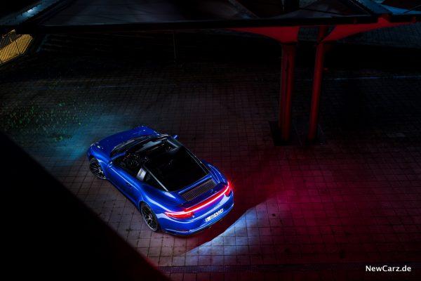 Porsche 911 Targa 4 GTS oben