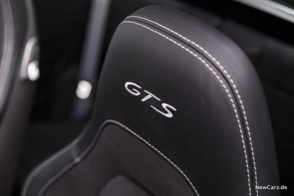 Porsche 911 Targa 4 GTS Sitze