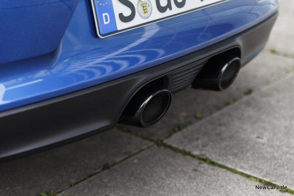 Porsche 911 Targa 4 GTS Sportabgasanlage