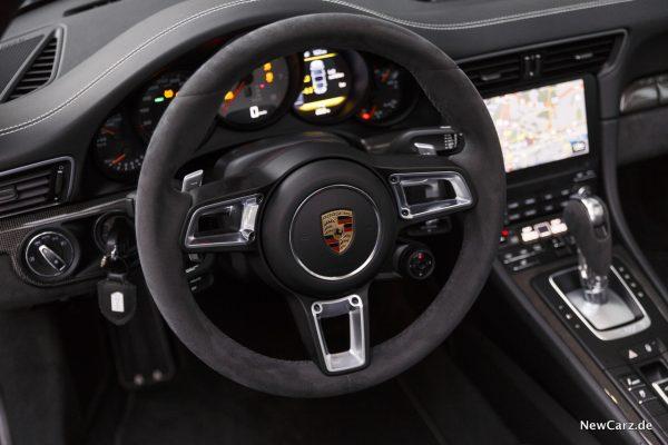 Porsche 911 Targa 4 GTS Lenkrad