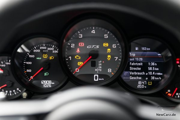 Porsche 911 Targa 4 GTS Instrumente