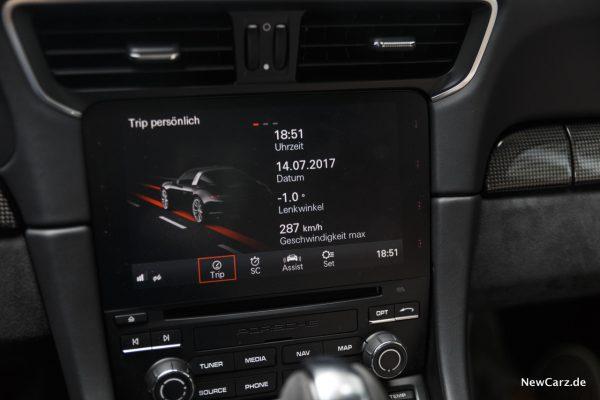 Porsche 911 Targa 4 GTS Communication Management