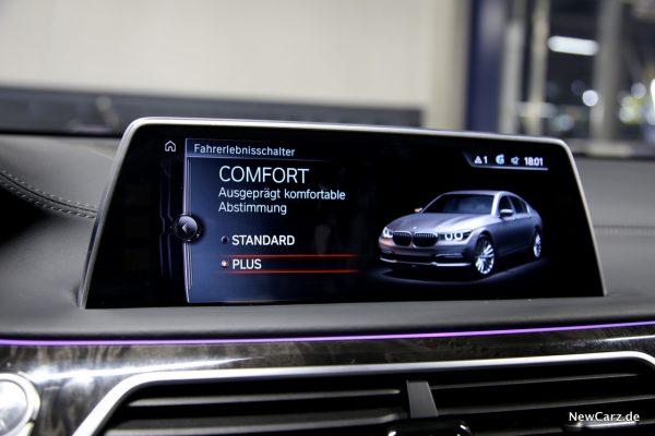 BMW 730d xDrive Comfort Plus Modus
