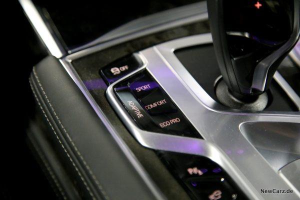 BMW 730d xDrive Fahrerlebnisschalter