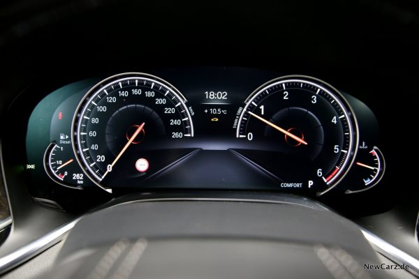 BMW 730d xDrive Comfort Modus