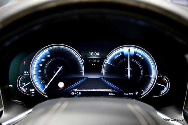 BMW 730d xDrive ECO PRO Instrumente