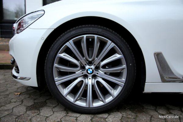 BMW 730d xDrive Luftfederung