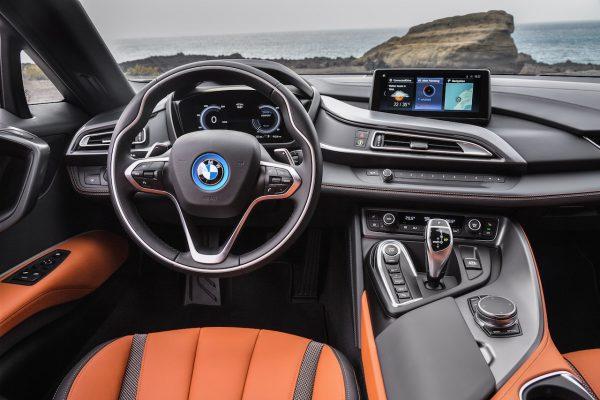 BMW i8 Roadster Interieur