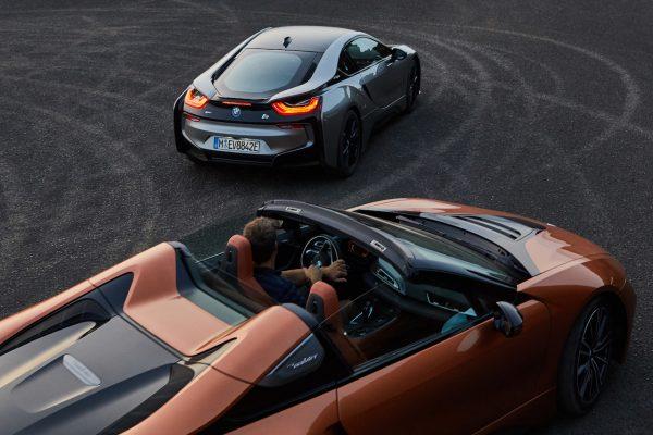 BMW i8 Roadster Exterieur