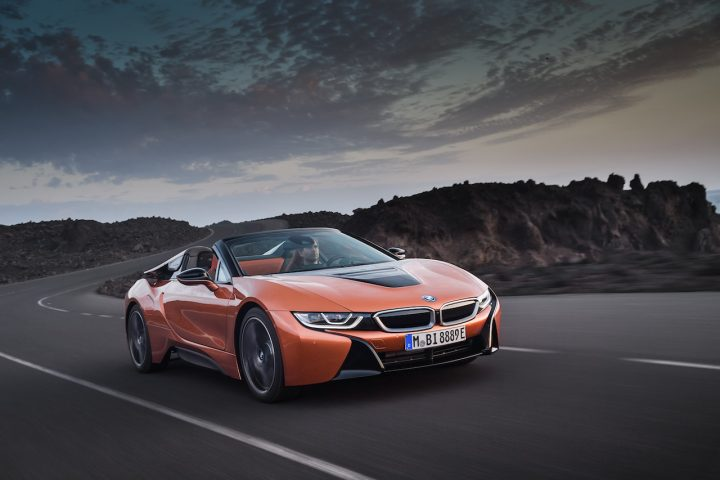 BMW i8 Roadster Exterieur
