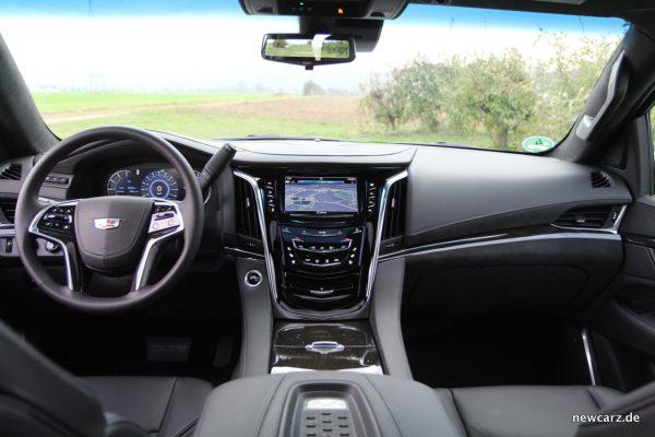 Cadillac Escalade Armaturenbereich