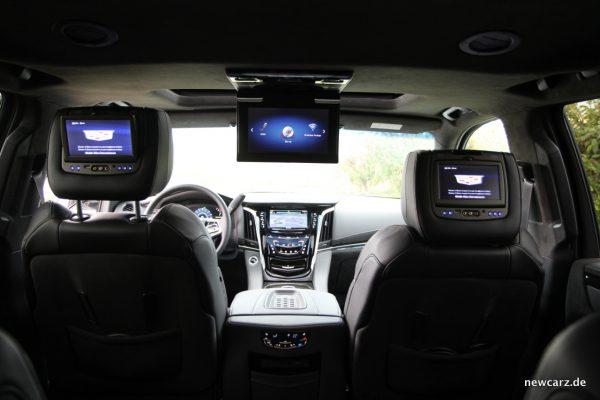 Cadillac Escalade Entertainment