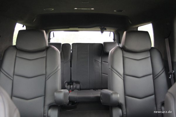 Cadillac Escalade Sitzreihen