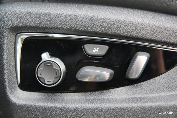 Cadillac Escalade Sitzeinstellung