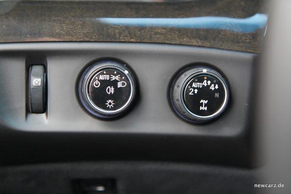 Cadillac Escalade Modusregler