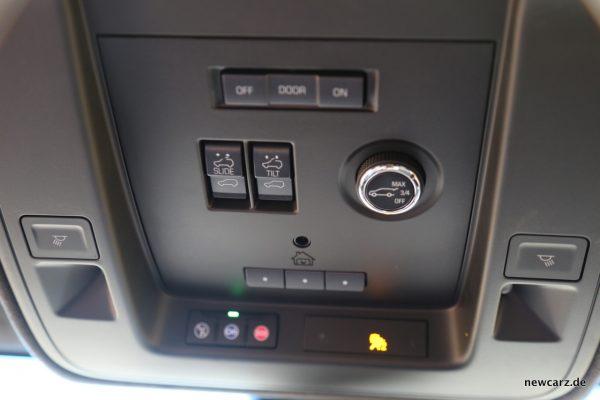 Cadillac Escalade Dachsteuerung