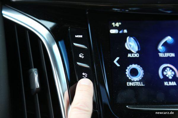 Cadillac Escalade Pedalverstellung